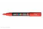Marqueur Posca pointe conique trait extra-fin Rouge