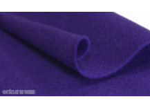 Feutrine en coupon de 20x30cm 2 mm Violet
