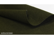 Feutrine en coupon de 20x30cm 2 mm Olive